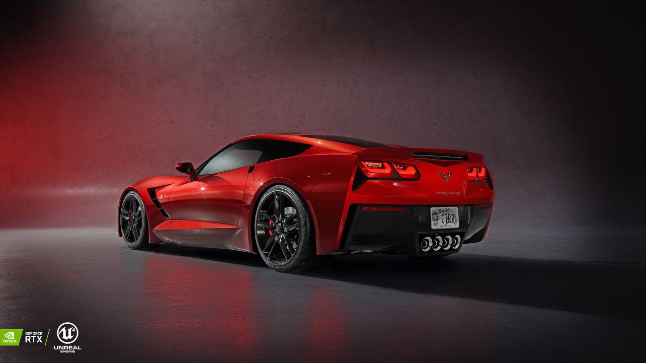 red-corvette-c7-rl
