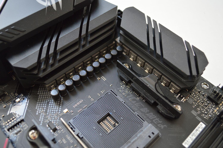 ASUS ROG Strix B550-E Gaming подсистема питания