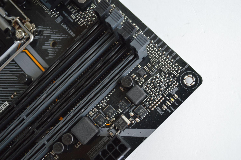 TUF Gaming B460-Plus индикаторы