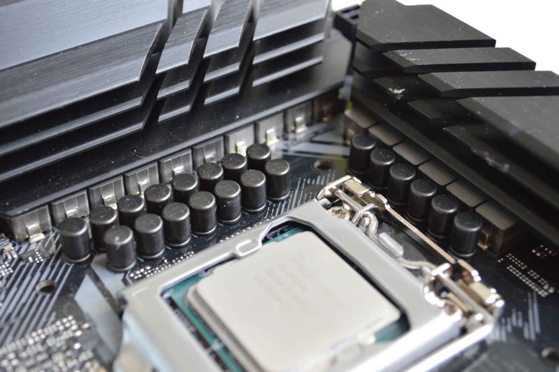 TUF Gaming Z490-Plus (Wi-Fi) подсистема питания