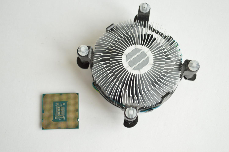 Pentium Gold G6400 бокс кулер