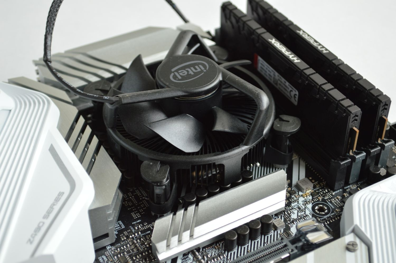Core i9-10900 на плате