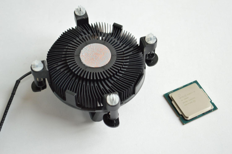 Core i9-10900 кулер