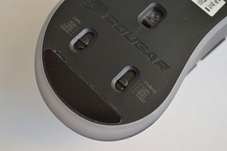 Cougar Surpassion ST кнопки