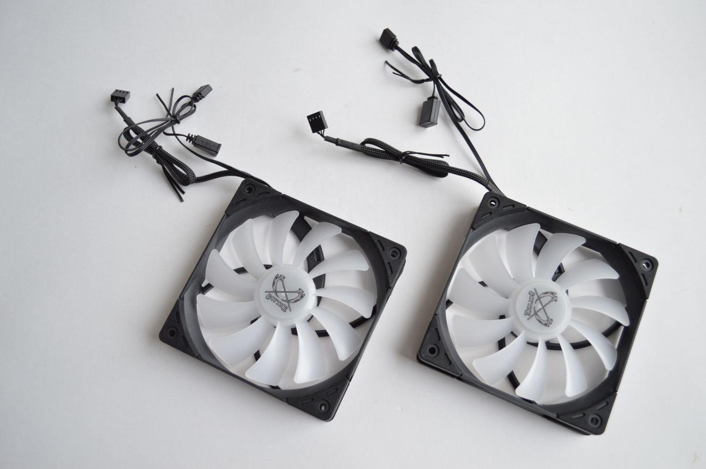 Scythe Mugen 5 ARGB Plus вентиляторы