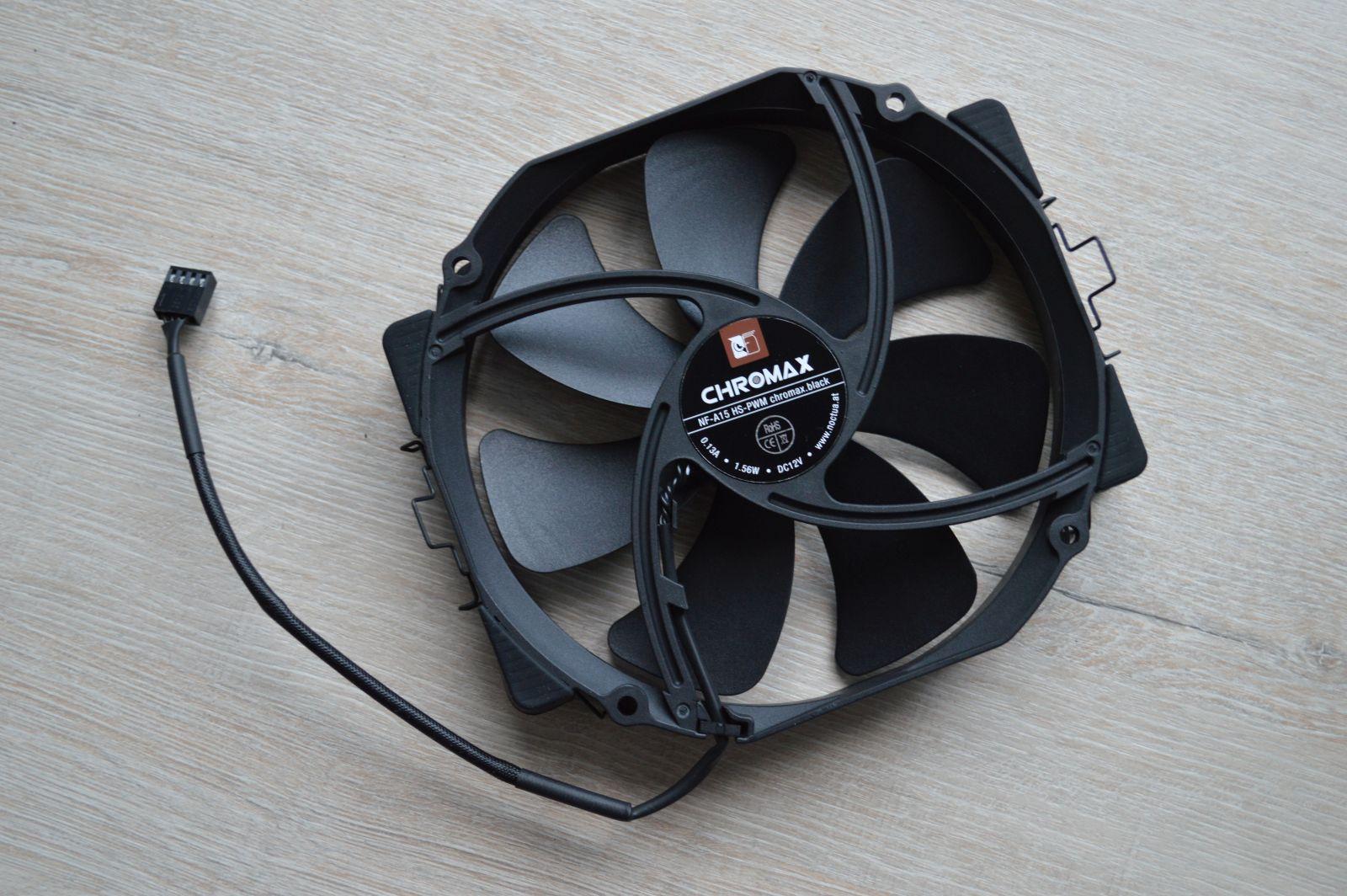 NH-D15S chromax.black вентилятор