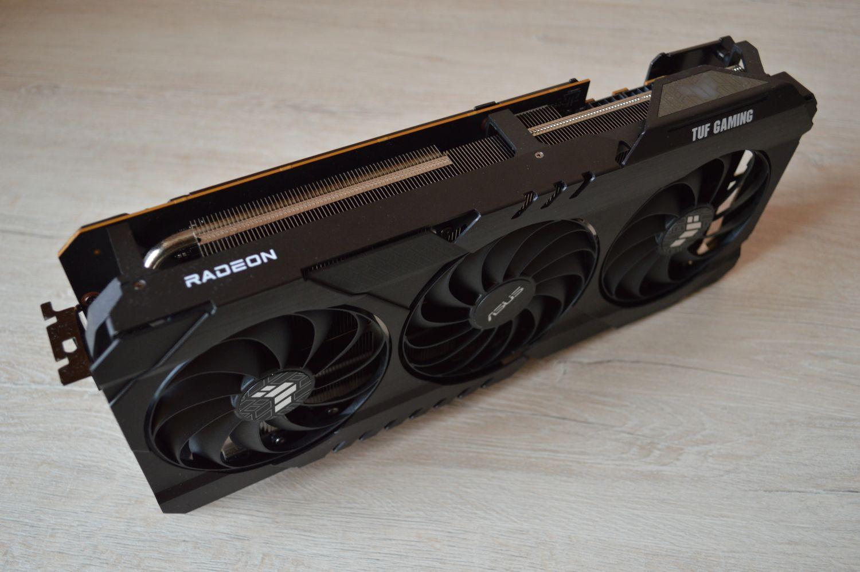 Пропеллеры ASUS TUF Gaming Radeon RX 6800 XT