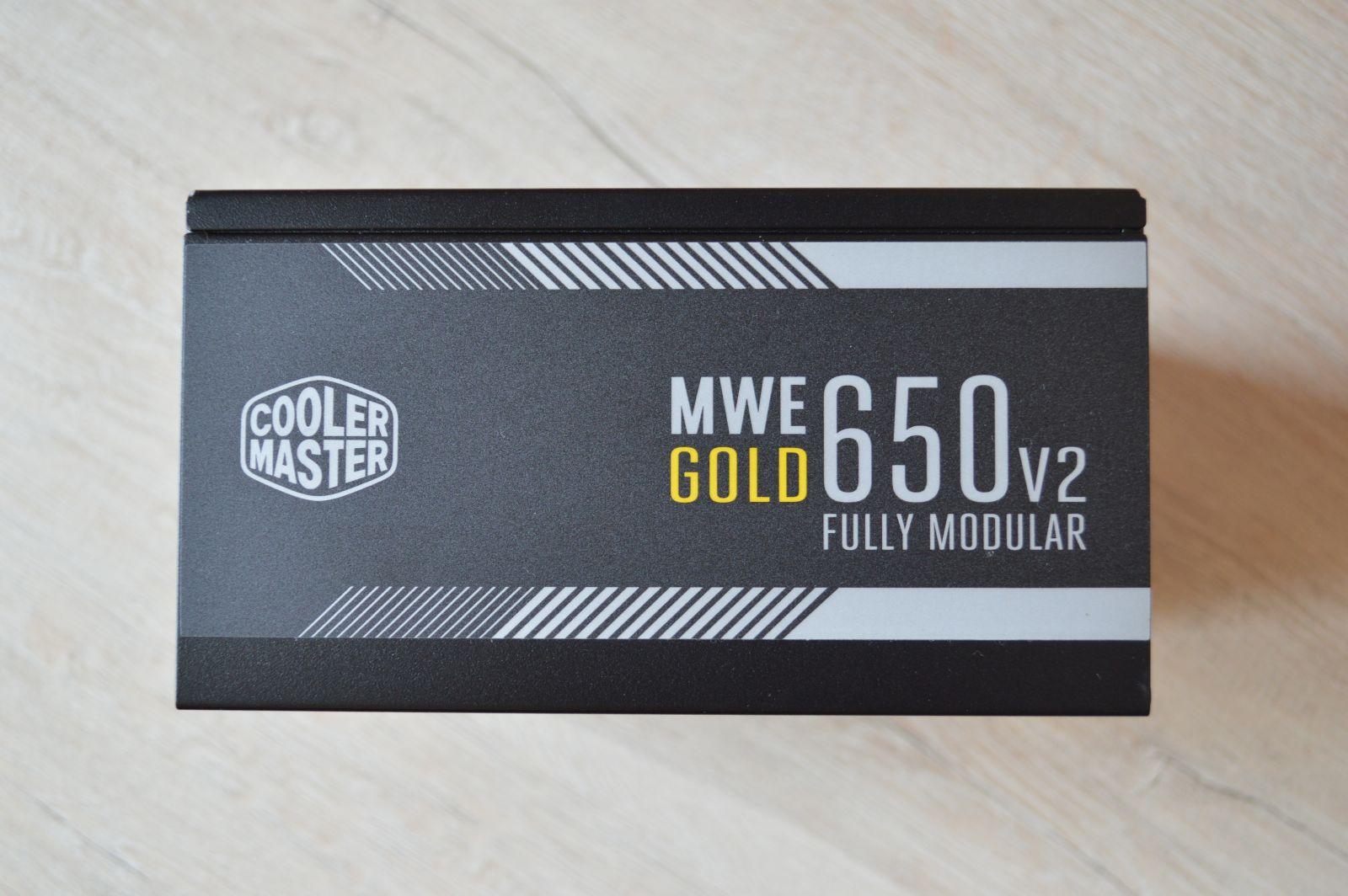Cooler Master MWE Gold 650 V2 наклейка