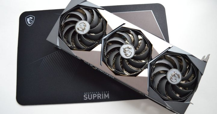 MSI GeForce RTX 3080 Suprim X 10G комплект