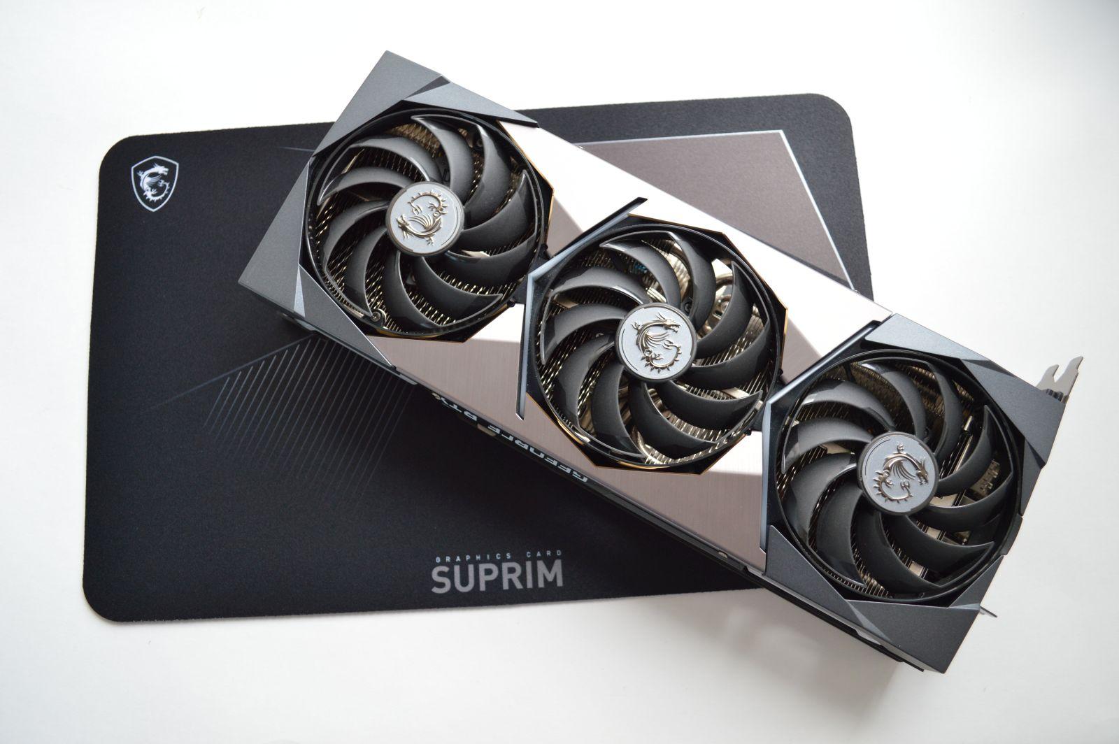 MSI GeForce RTX 3080 Suprim X 10G комплект