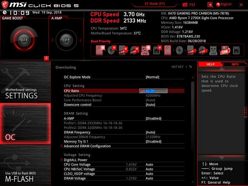 Руководство по разгону процессоров AMD Ryzen