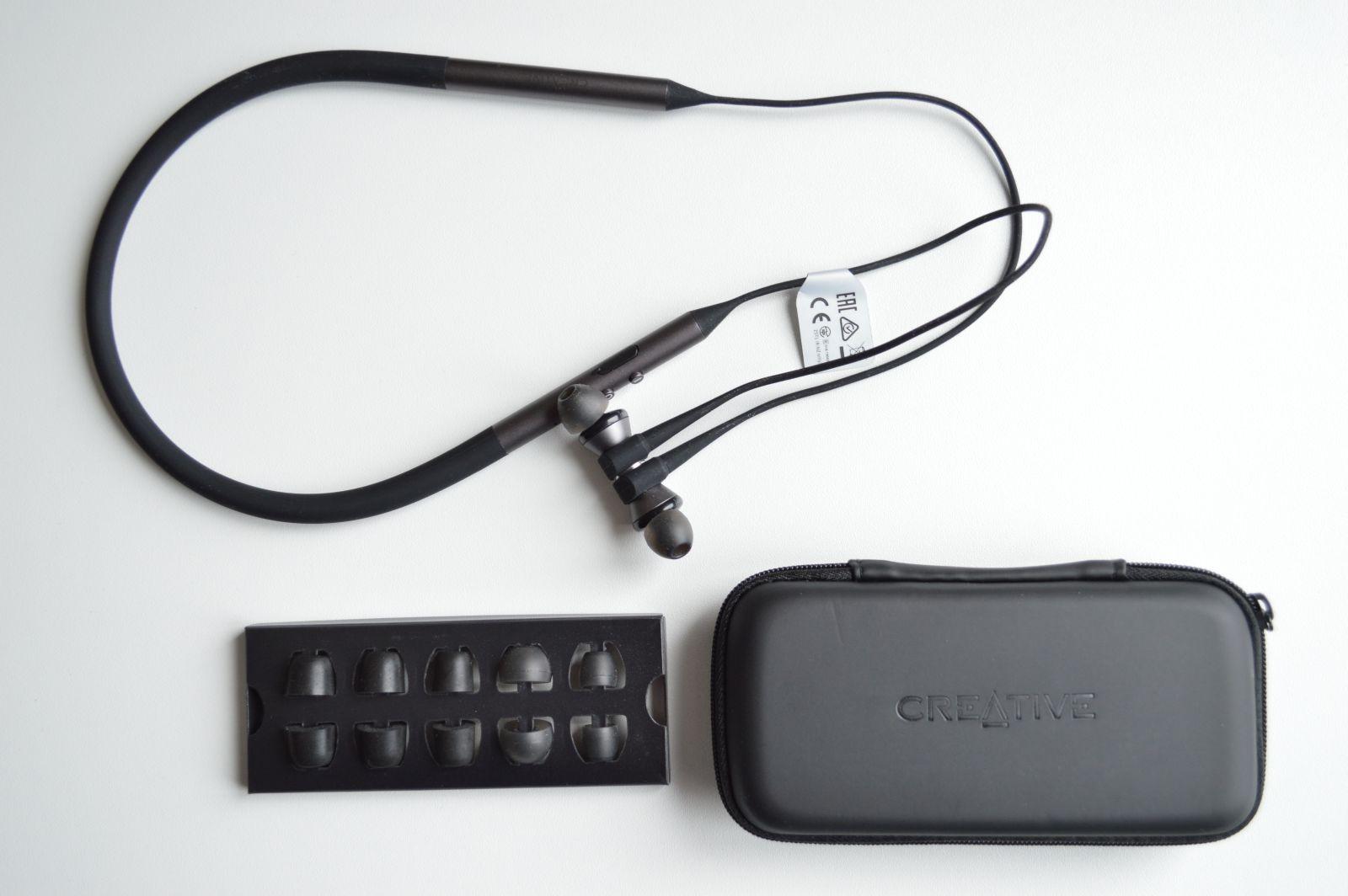 Creative Aurvana Trio Wireless комплектация