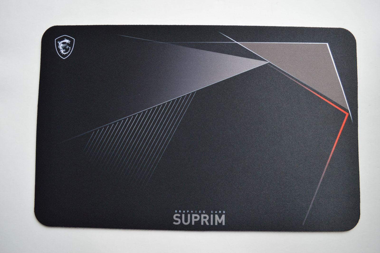 коврик MSI GeForce RTX 3080 Suprim X 10G