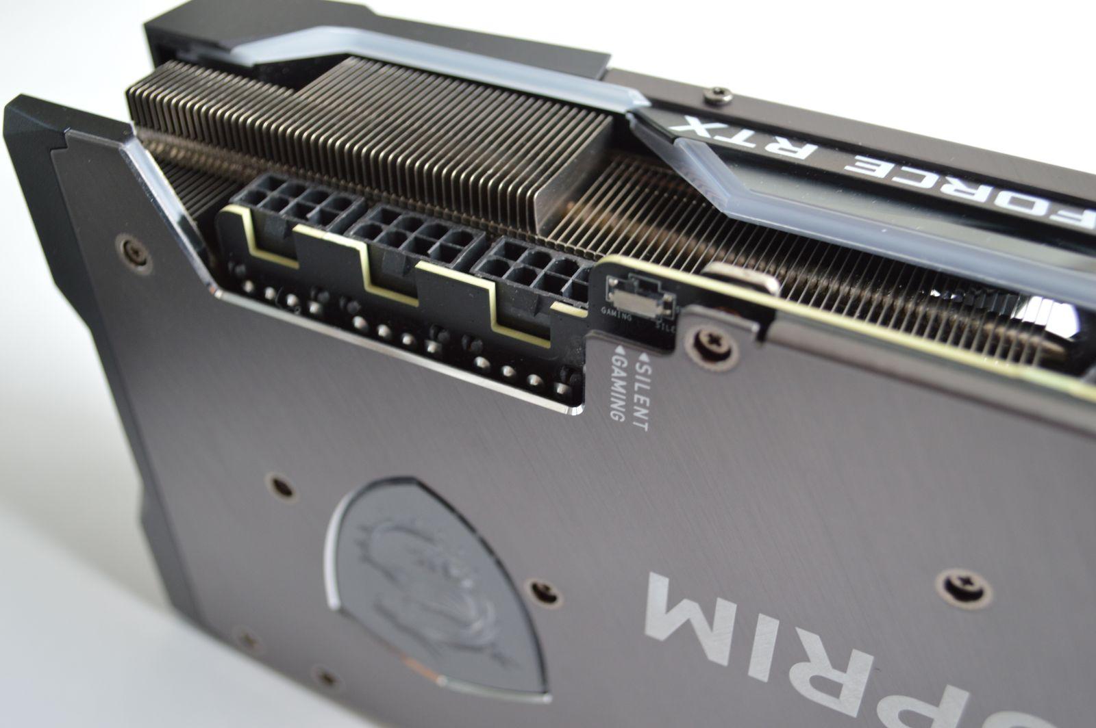 MSI GeForce RTX 3080 Suprim X 10G modes