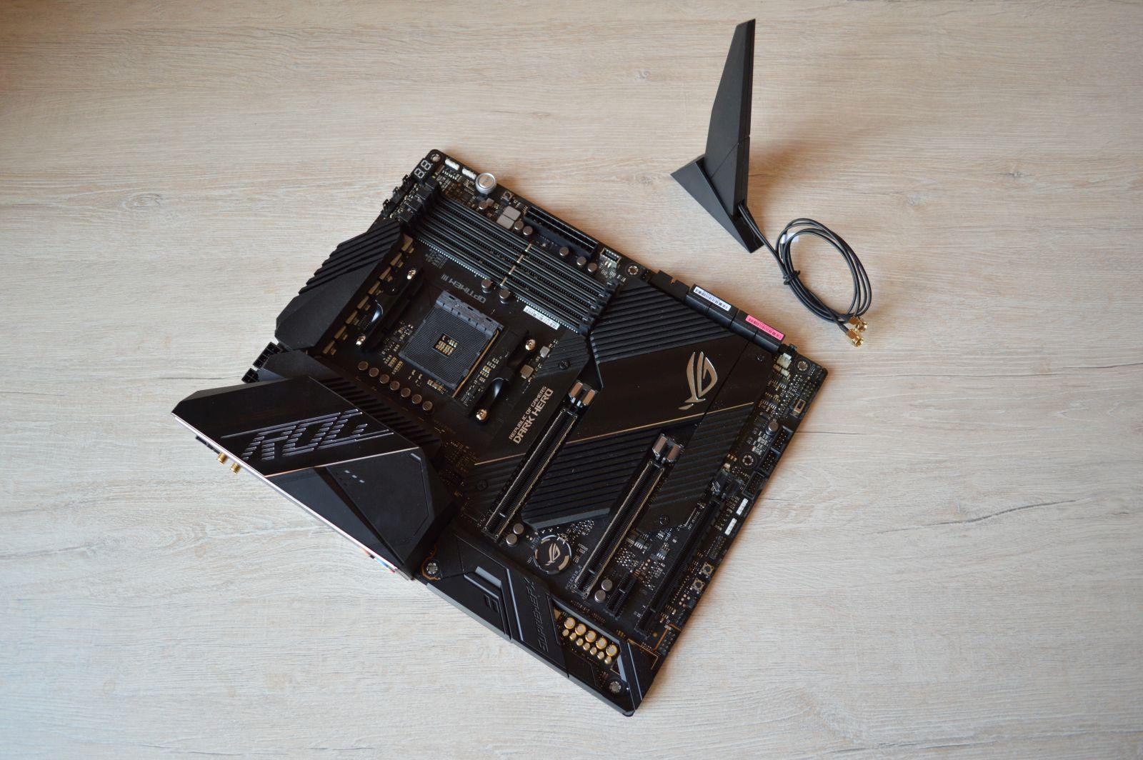 ASUS ROG Crosshair VIII Dark Hero комплект