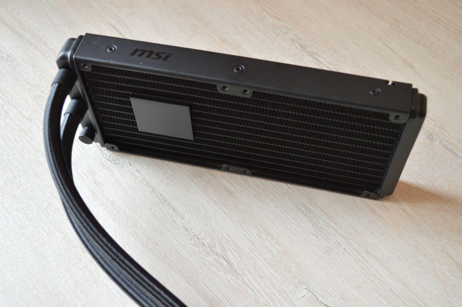 MSI MAG Coreliquid 240R радиатор