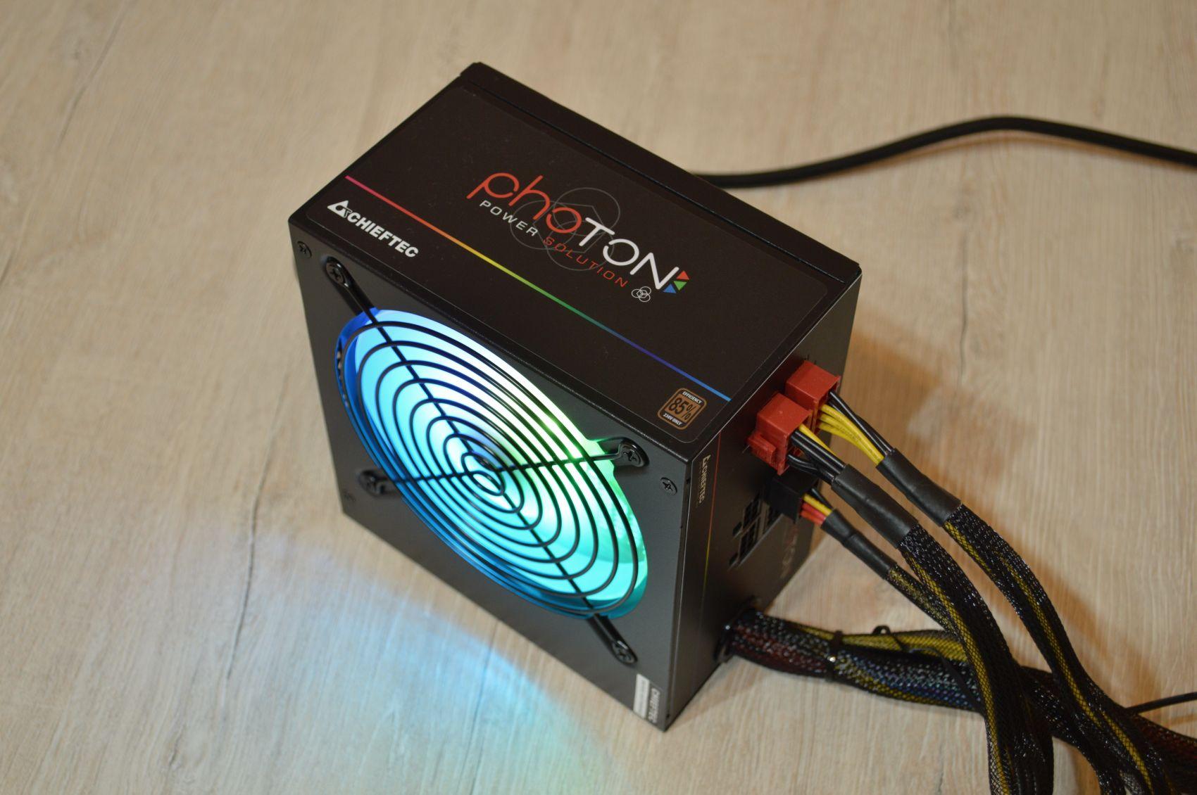 Chieftec Photon 750 Вт лампы