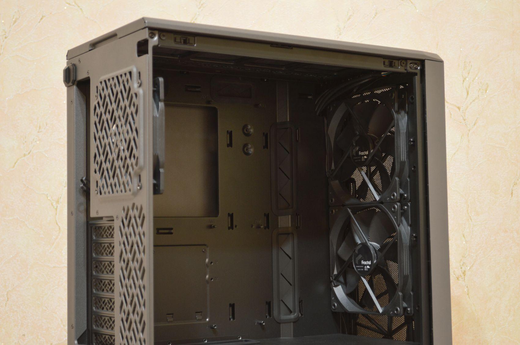 Meshify 2 Compact вентиляторы
