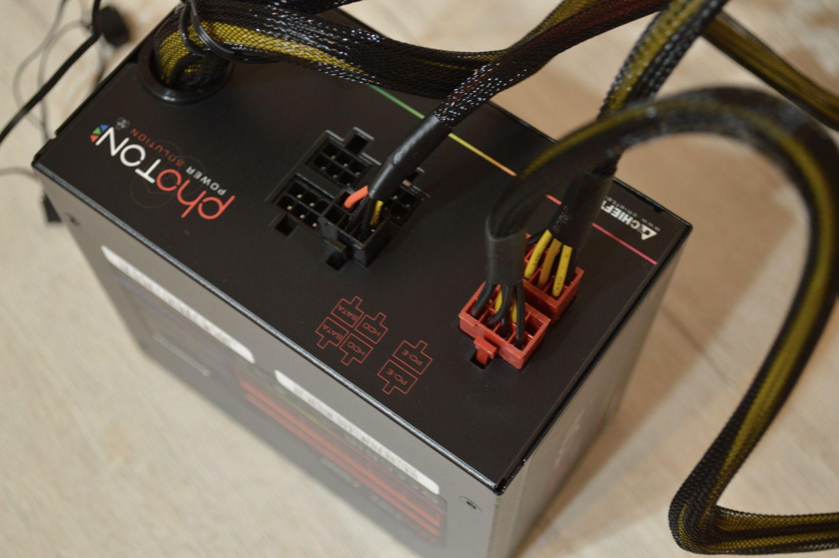 Chieftec Photon 750 Вт с проводами