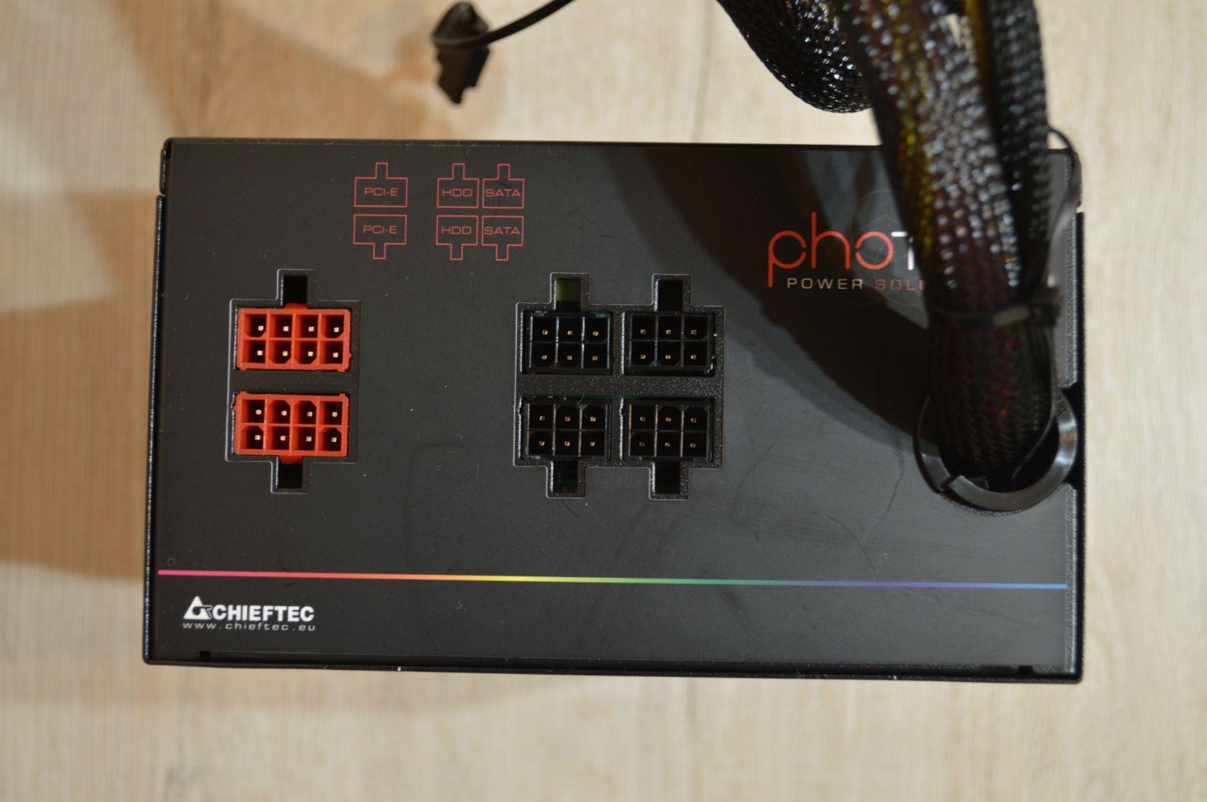 Chieftec Photon 750 Вт модульные разъемы