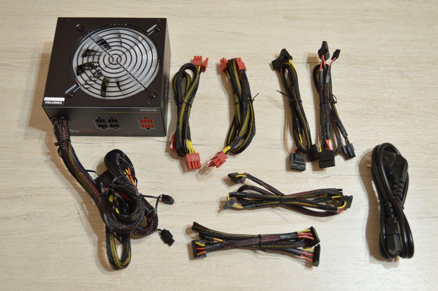 Chieftec Photon 750 Вт комплектация