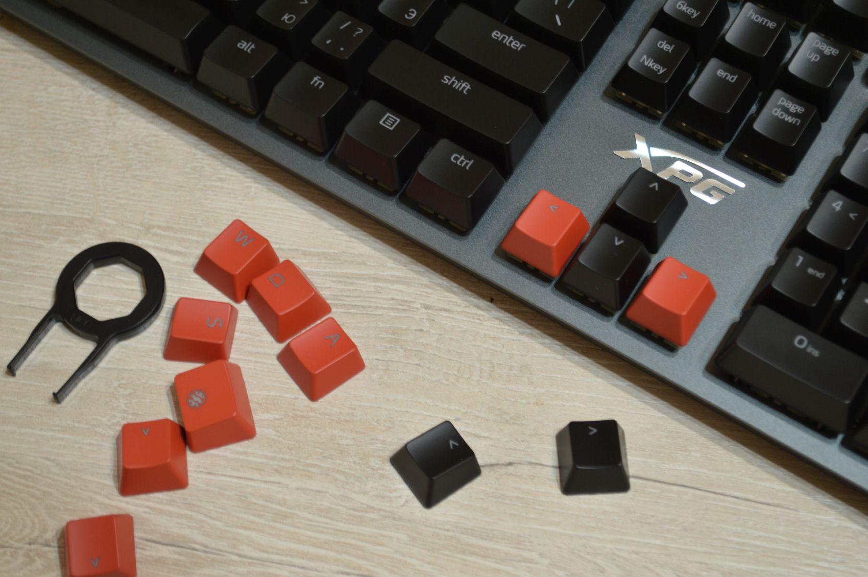 XPG Summoner сменные кнопки