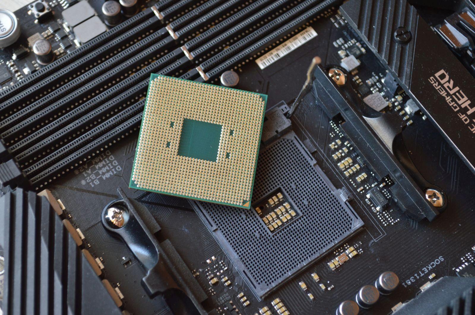 AMD Ryzen 9 5950X контакты