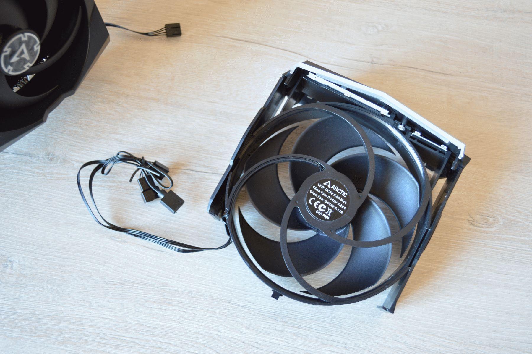 вентилятор средний
