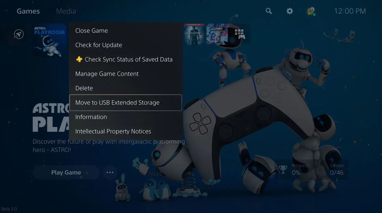 Первое крупное обновление для PS5 доступно для загрузки