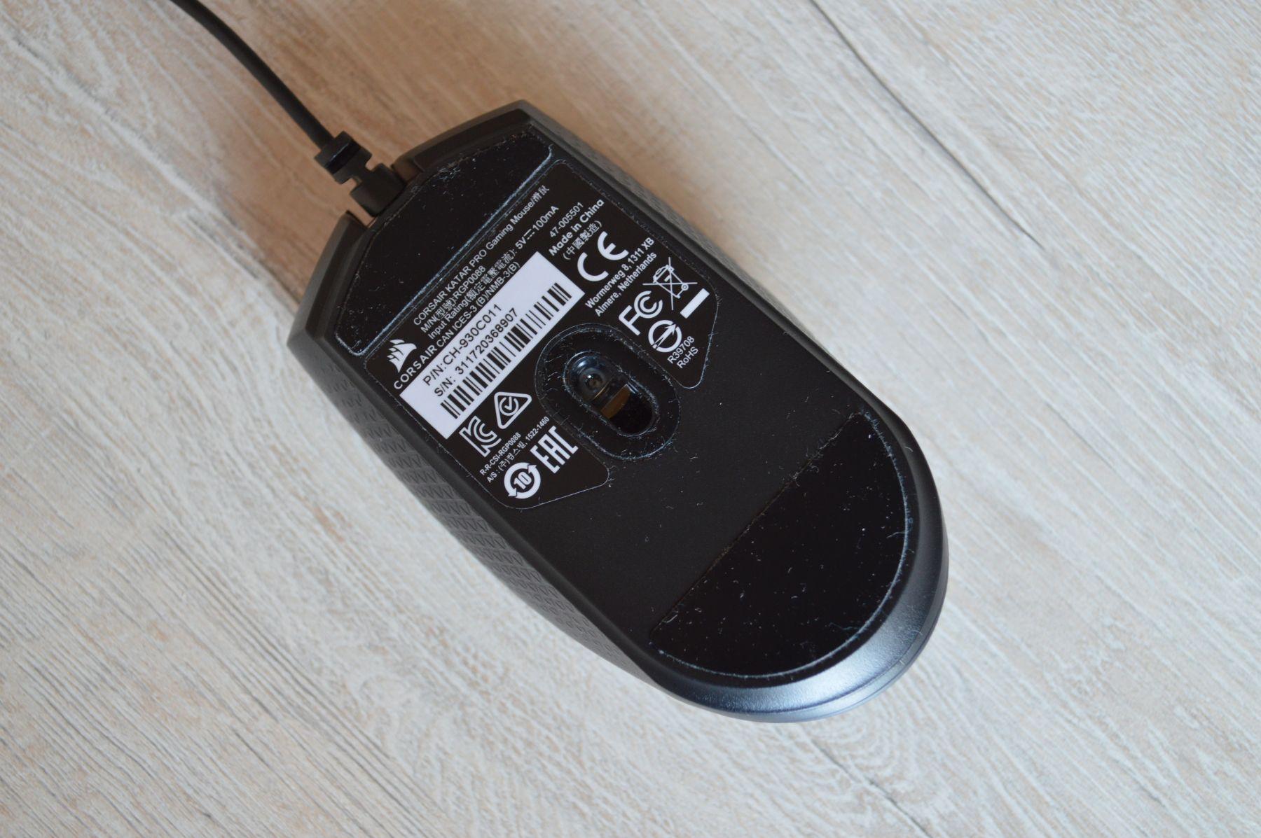 Corsair Katar Pro оптический сенсор