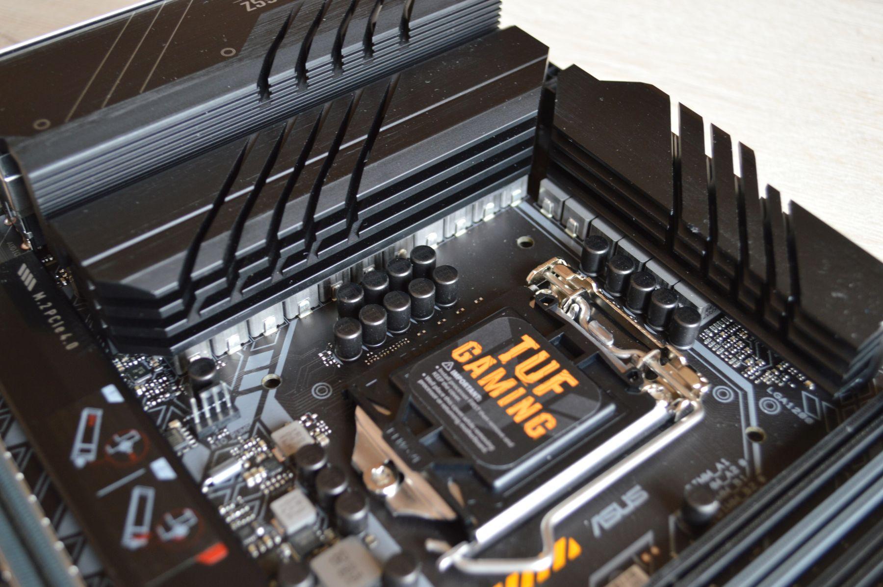ASUS TUF Gaming Z590-Plus WIFI подсистема питания