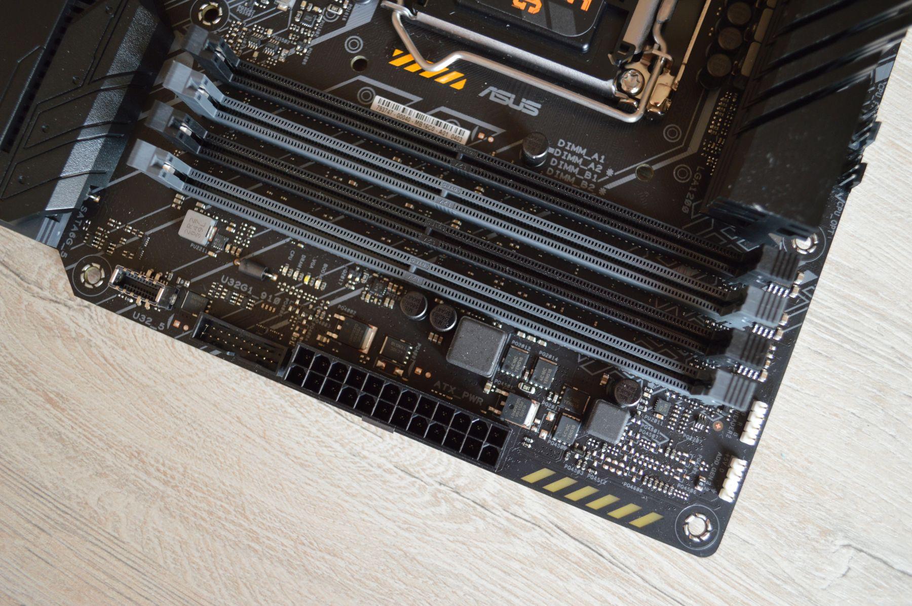 ASUS TUF Gaming Z590-Plus WIFI DIMM