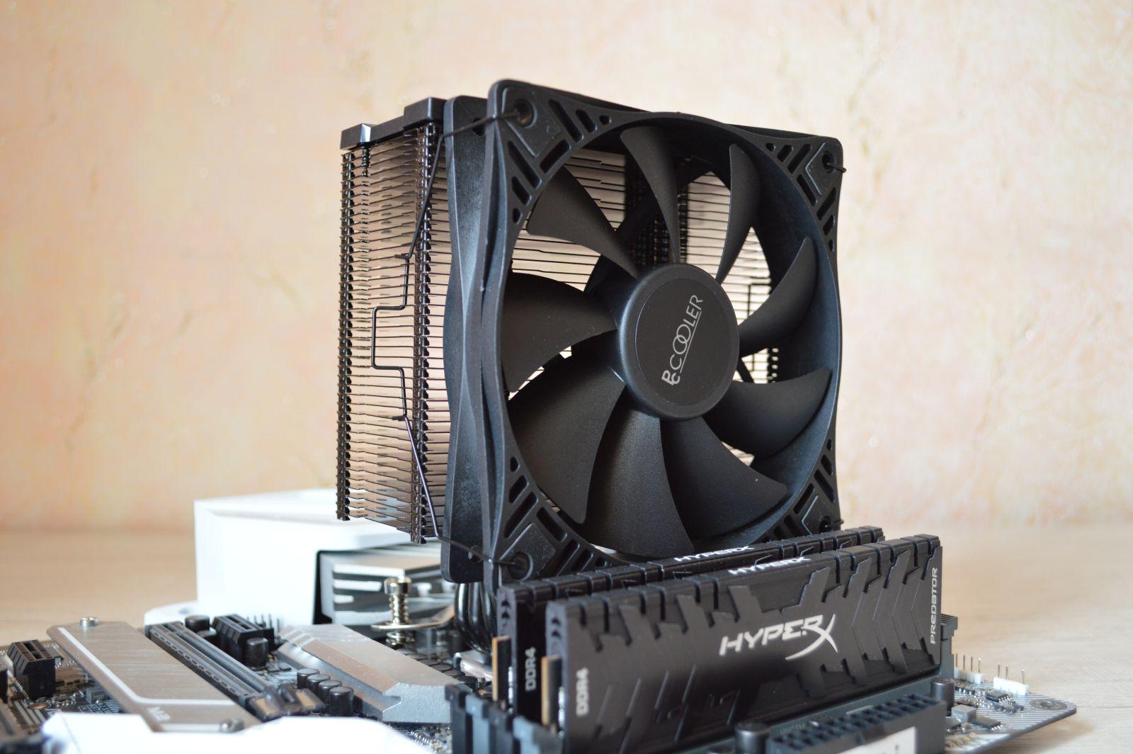 PCCooler GI-X4S D на плате