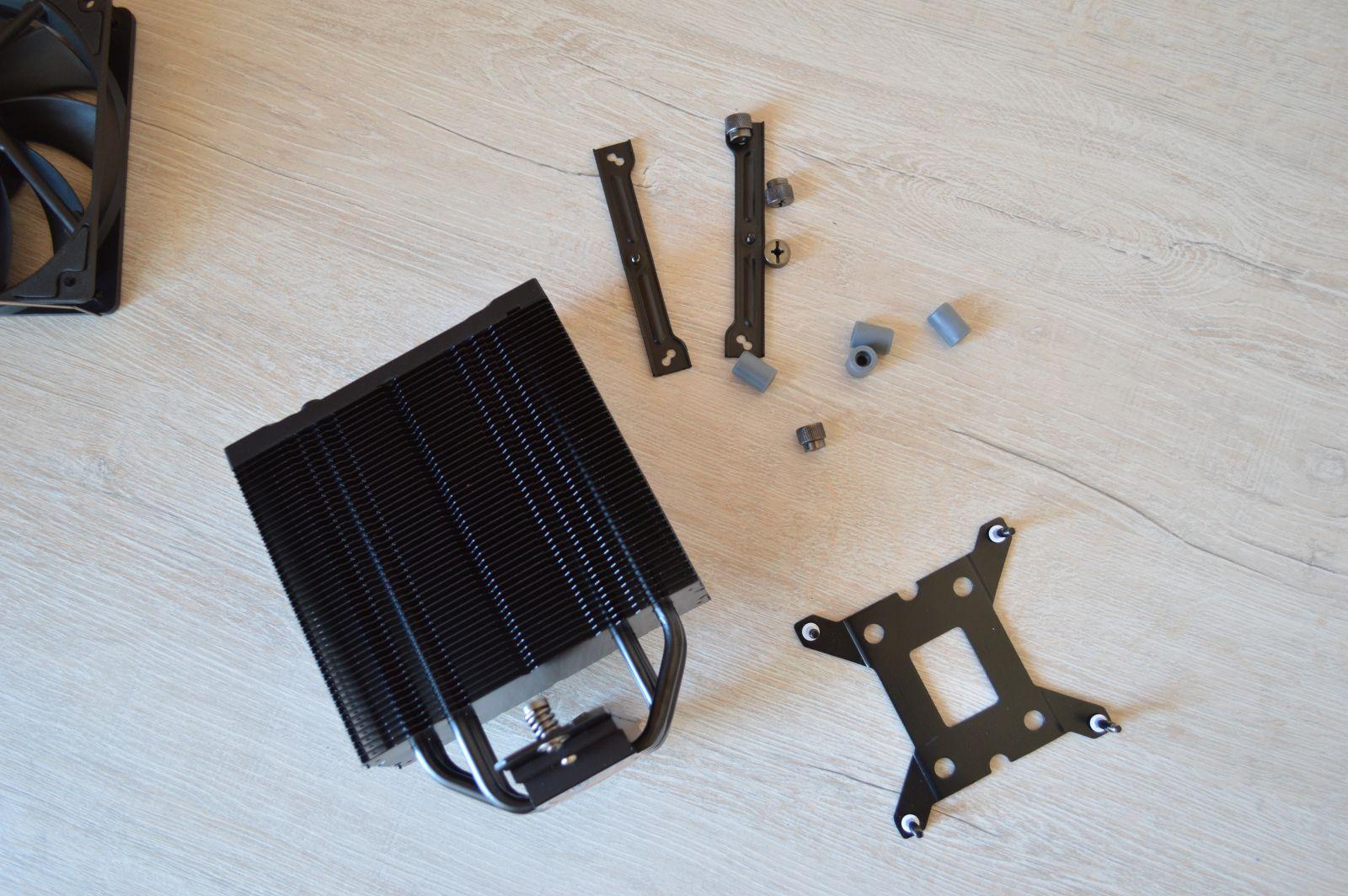 крепеж ID-Cooling SE-224-XT Black
