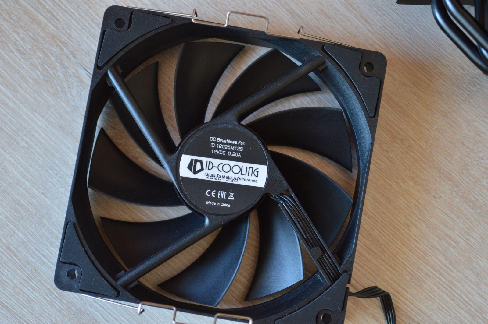 вентилятор ID-Cooling SE-224-XT Black