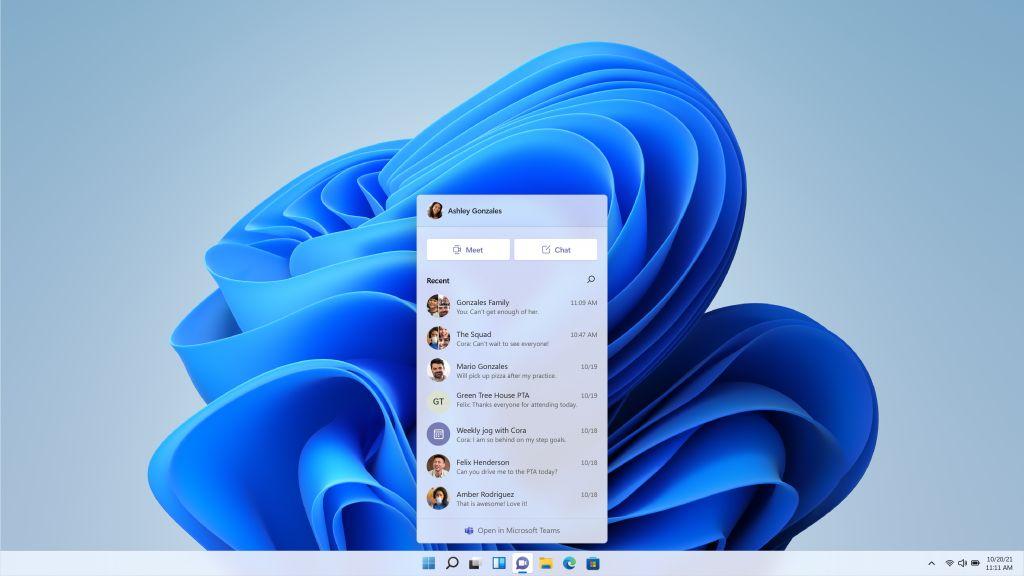 Windows 11 панель задач