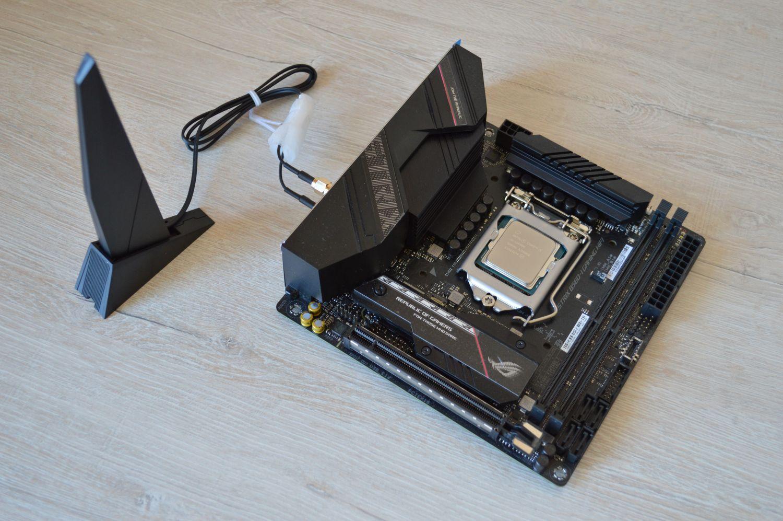 ASUS ROG Strix B560-I Gaming WIFI с модлем вай-фай