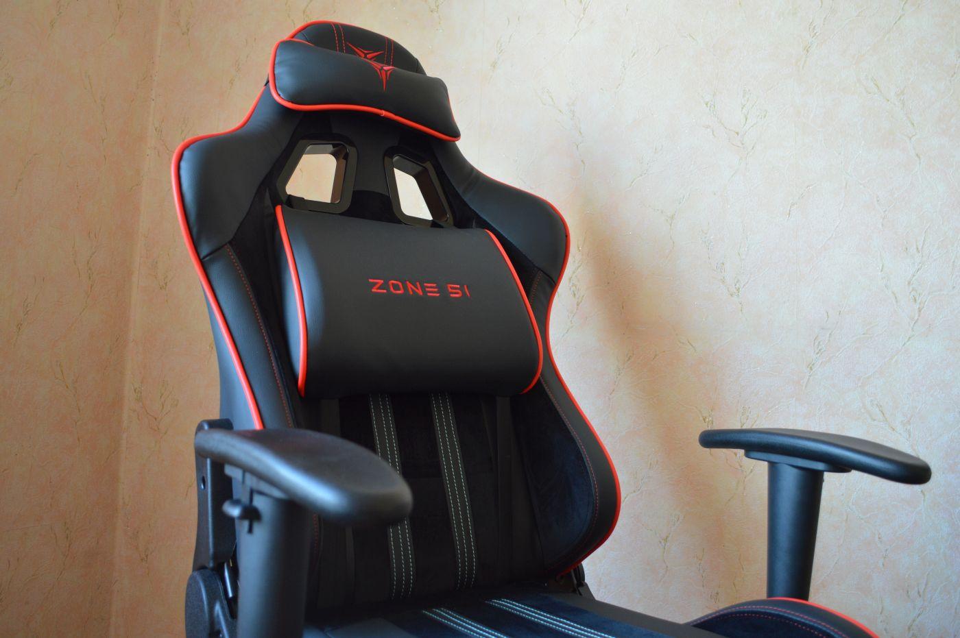 пластиковые подлокотники компьютерного игрового кресла Zone 51 Gravity