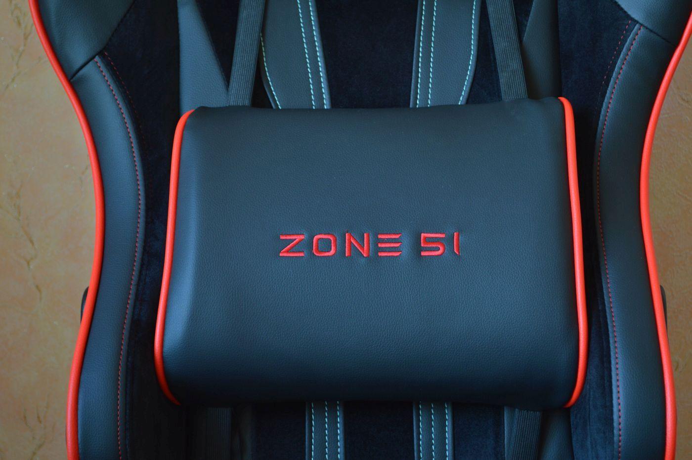большая подушечка компьютерного игрового кресла Zone 51 Gravity