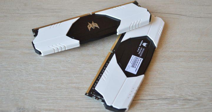 Predator Talos DDR4-3600 CL18 16 Гбайт из коробки