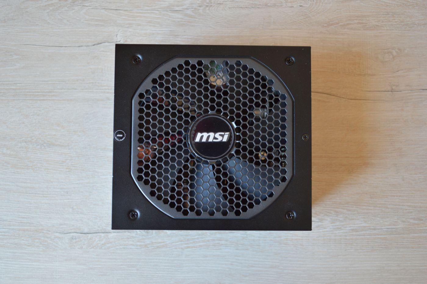 решетка вентилятора MSI MPG A850GF