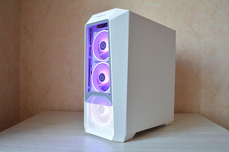 Abkoncore H300G White и стекла