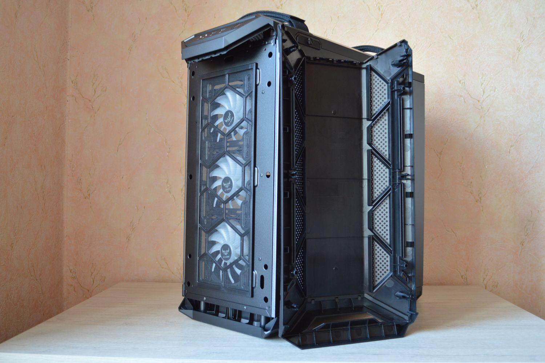 ASUS TUF Gaming GT501 спереди без рамы и фильтра
