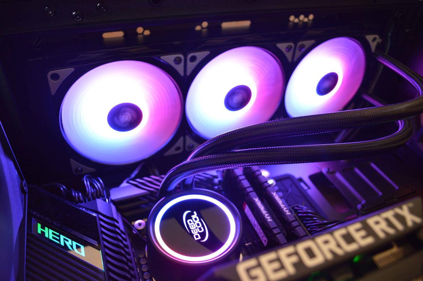 Обзор жидкостной системы охлаждения Deepcool Gammaxx L360 A-RGB