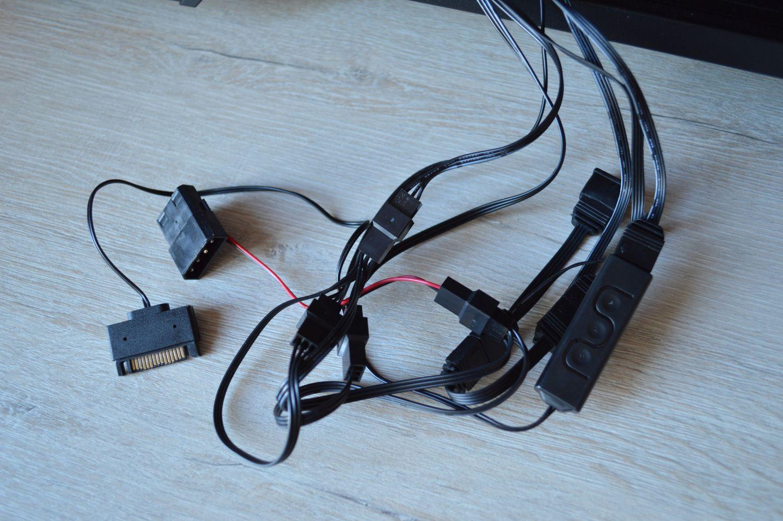 ASUS TUF Gaming GT501 провода
