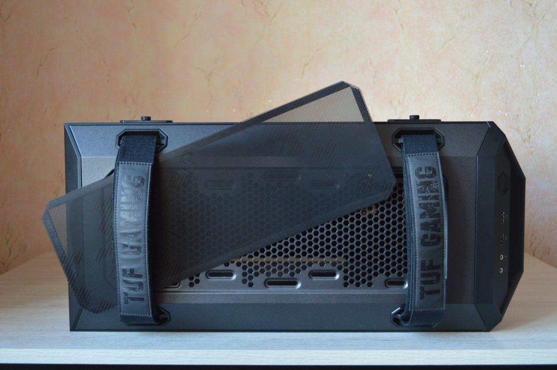 ASUS TUF Gaming GT501 съемный фильтр
