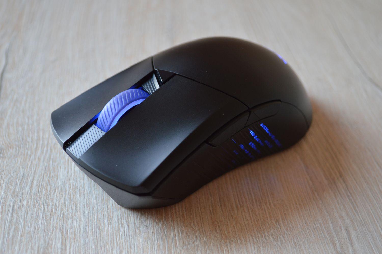 синяя подсветка ROG Gladius III Wireless
