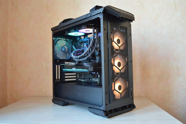 ASUS TUF Gaming GT501 желтый