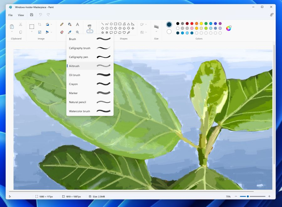 Paint в Windows 11