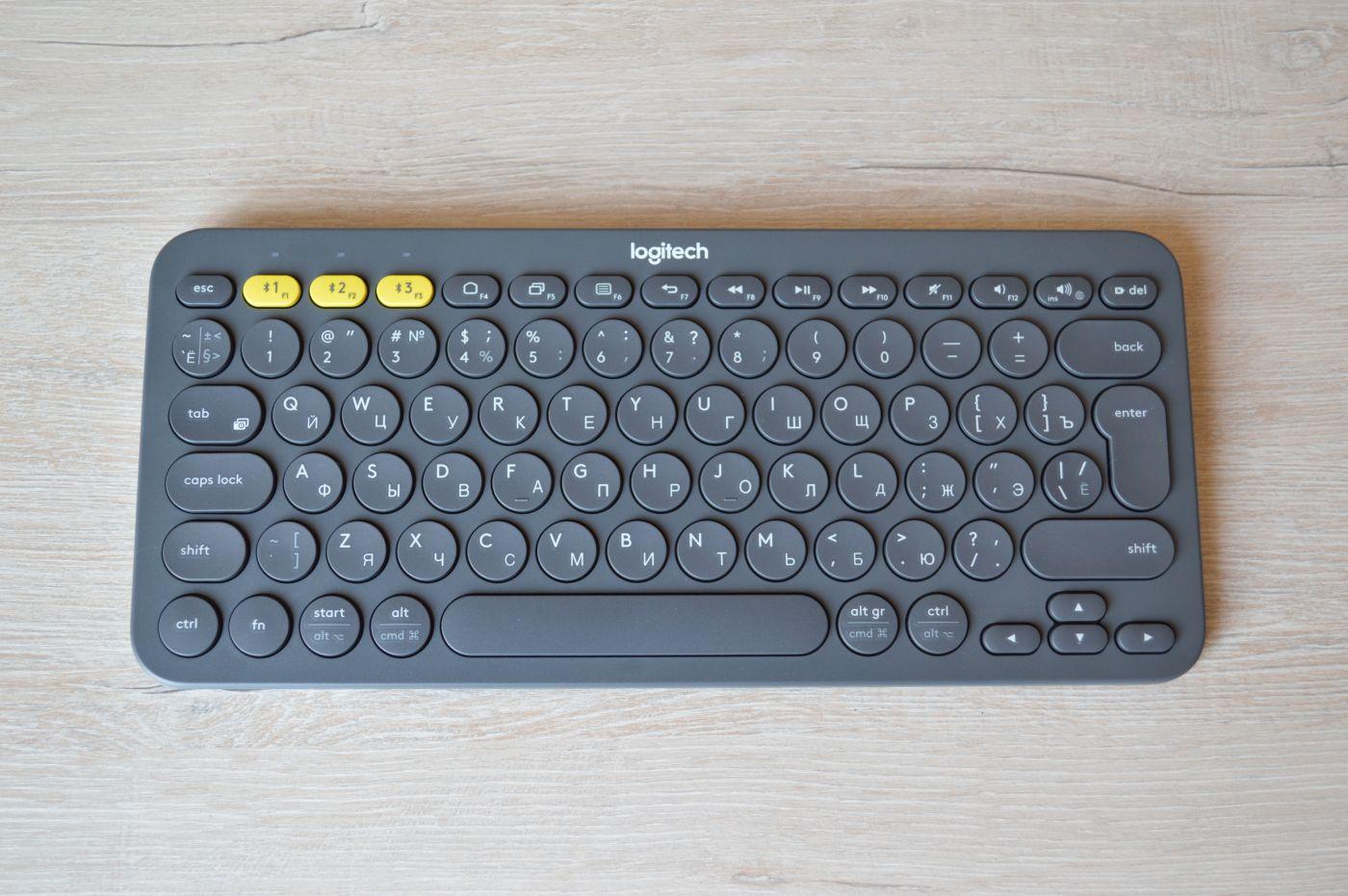 Logitech K380 Slim Multi-Device
